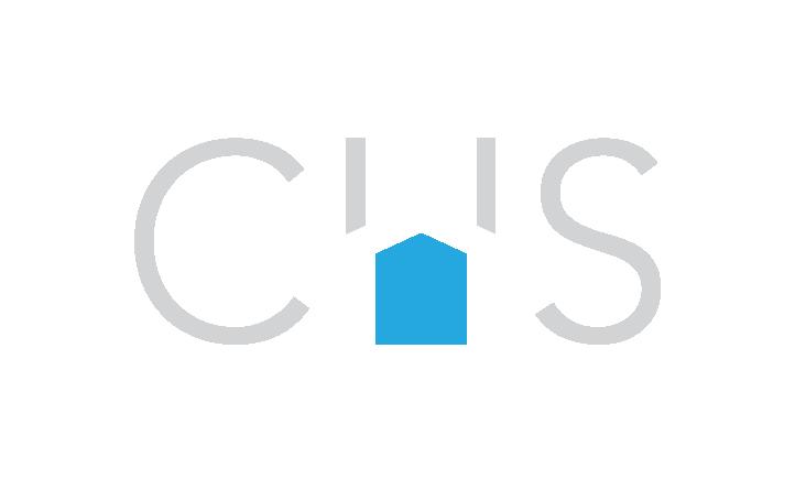 CHS symbol, white-out version